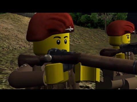 LEGO D-DAY 2 PARATROOPERS (Blender 2.48)