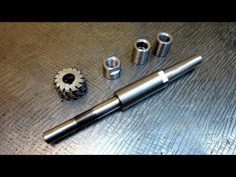 Самодельная оправка для Фрезерного станка - mandrel for a milling machine
