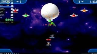 Chicken Invaders - speedrun - All 110 Waves (Novice) - 17:25 - 2 players WR
