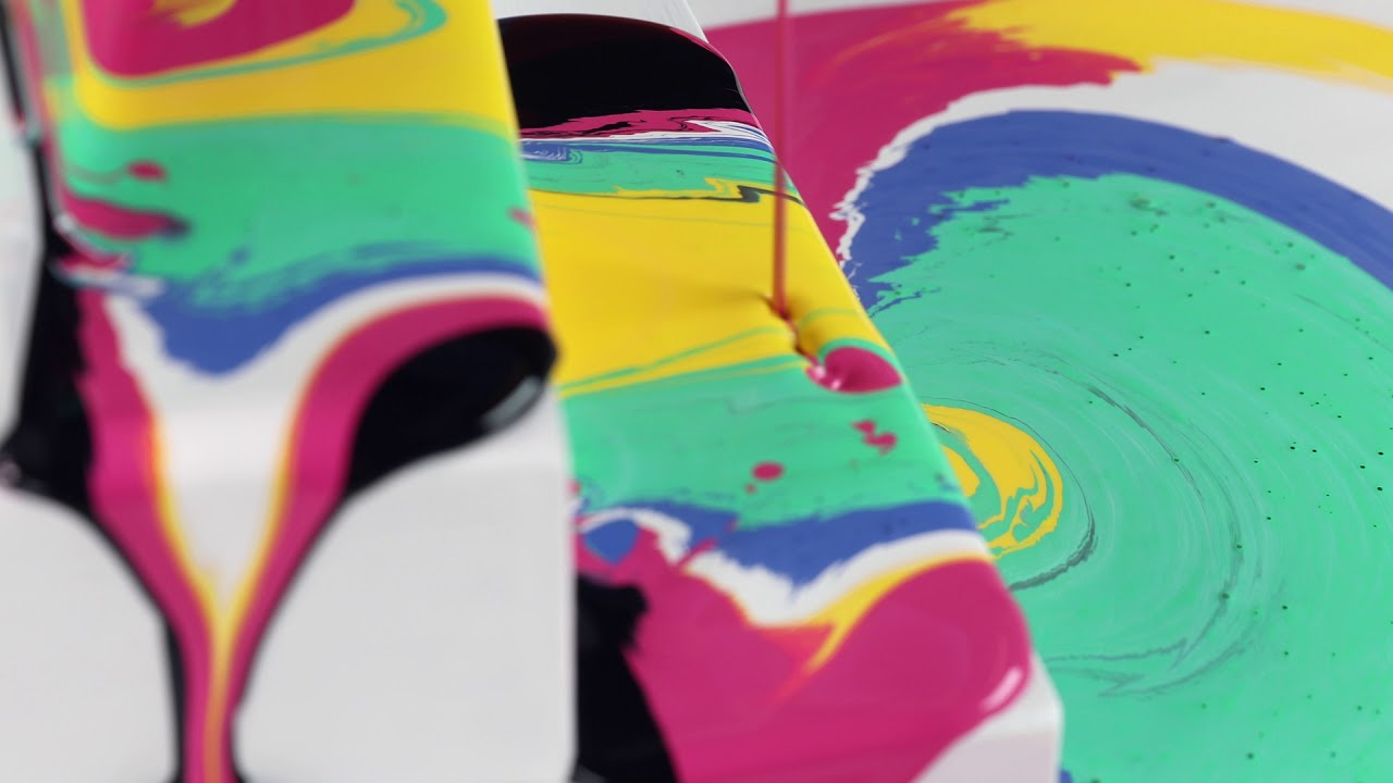 Folkart Marbling Paint Marbling Without The Mixing