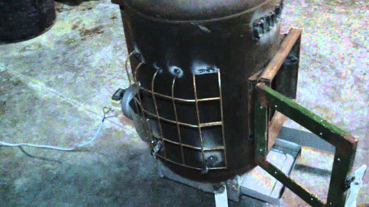 Caldera casera de aire a le a cap tulo 1 youtube - Estufas de aire ...
