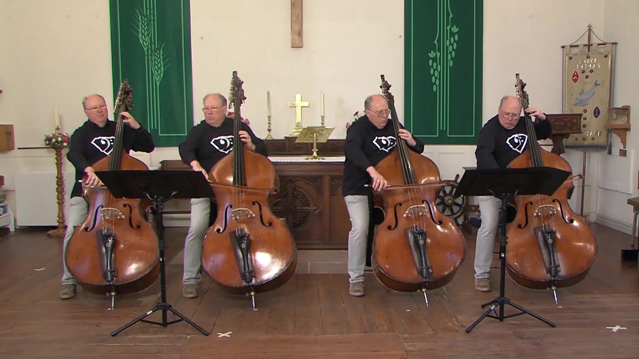 "17 Come Sunday from ""The Little Big Bass Quartet Book"""