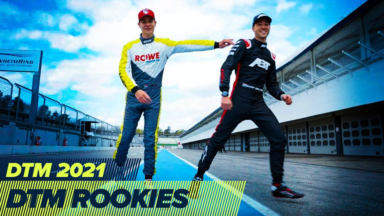 Duel between brothers and international DTM rookies at Test Days 2021