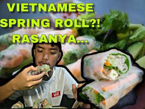 VIETNAMESE SPRING ROLL?!SUSHI MEMBER SEDAP!KENAPA RASANYA...*review semata-mata*