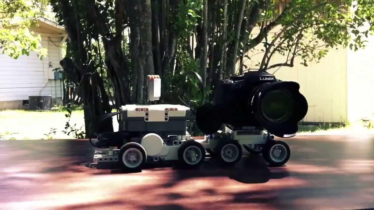 Camera Lego Mindstorm : Lego mindstorms camera dolly youtube