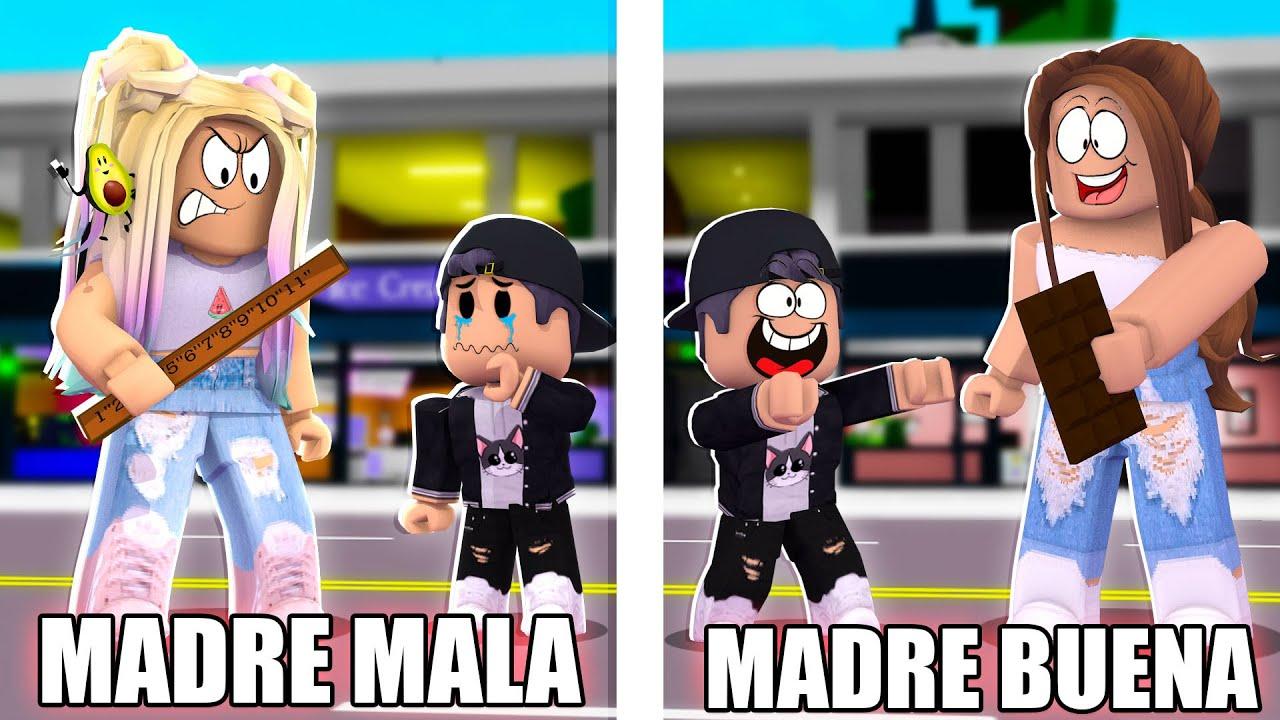 Download MADRE BUENA VS MADRE MALA en BROOKHAVEN   Roblox BROOKHAVEN RP CON EL TEAM