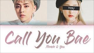 Xiumin & You 「CALL YOU BAE」 (Color Coded Lyrics Han Rom Eng)