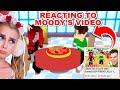 Gambar cover REACTING To MOODY Going On A DATE With MY Boyfriend In Adopt Me! Roblox