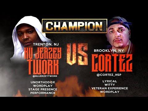 CHAMPION   CORTEZ VS NU JERZEY TWORK - SMACK/URL