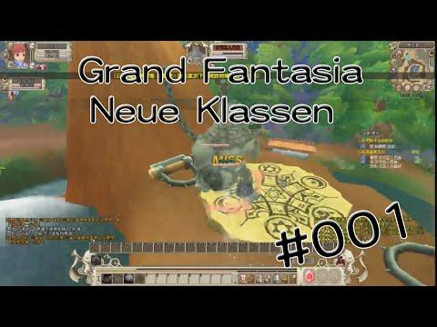 Zwei Idioten legen los!! °∇° #001 ✮ Let's Play Neue Klassen Grand Fantasia