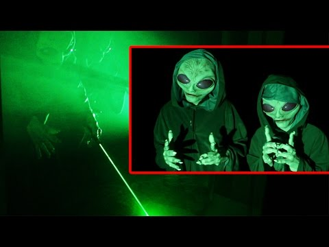 Alien Invasion Prank!