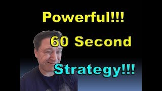 Profitable 60 Seconds Strategy for Binary Options