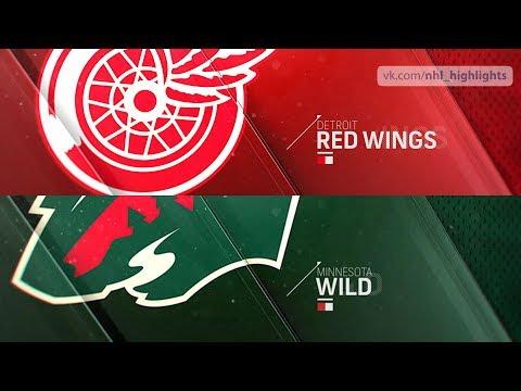 Detroit Red Wings vs Minnesota Wild Jan 12, 2019 HIGHLIGHTS HD