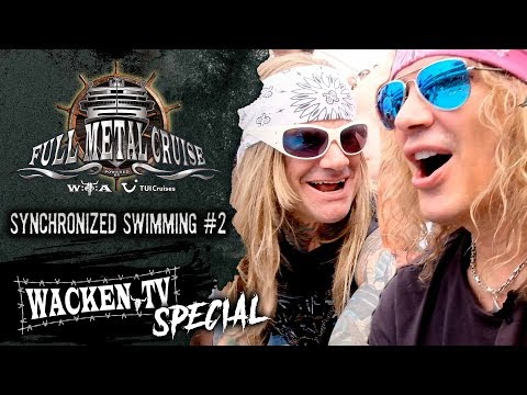 Full Metal Cruise VIII - Steel Panther Judging Synchronized Swimming Contest - #2