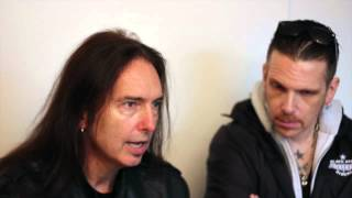 BLACK STAR RIDERS: DAMON JOHNSON TALKS TO MetalTalk AT DOWNLOAD 2015