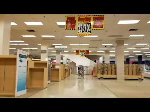 Final walk through of sears (Toledo Ohio)