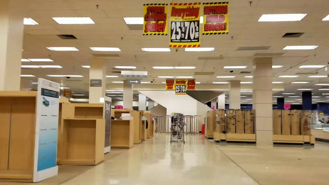 Final walk through of sears (Toledo Ohio) - YouTube