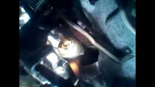 Changing  a clutch master scylinder on a 2005 scion tc in rosedale queens NY