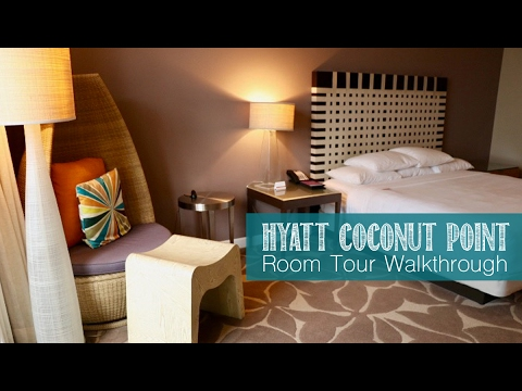 Coconut Point Room Tour Walkthrough l Family Travel
