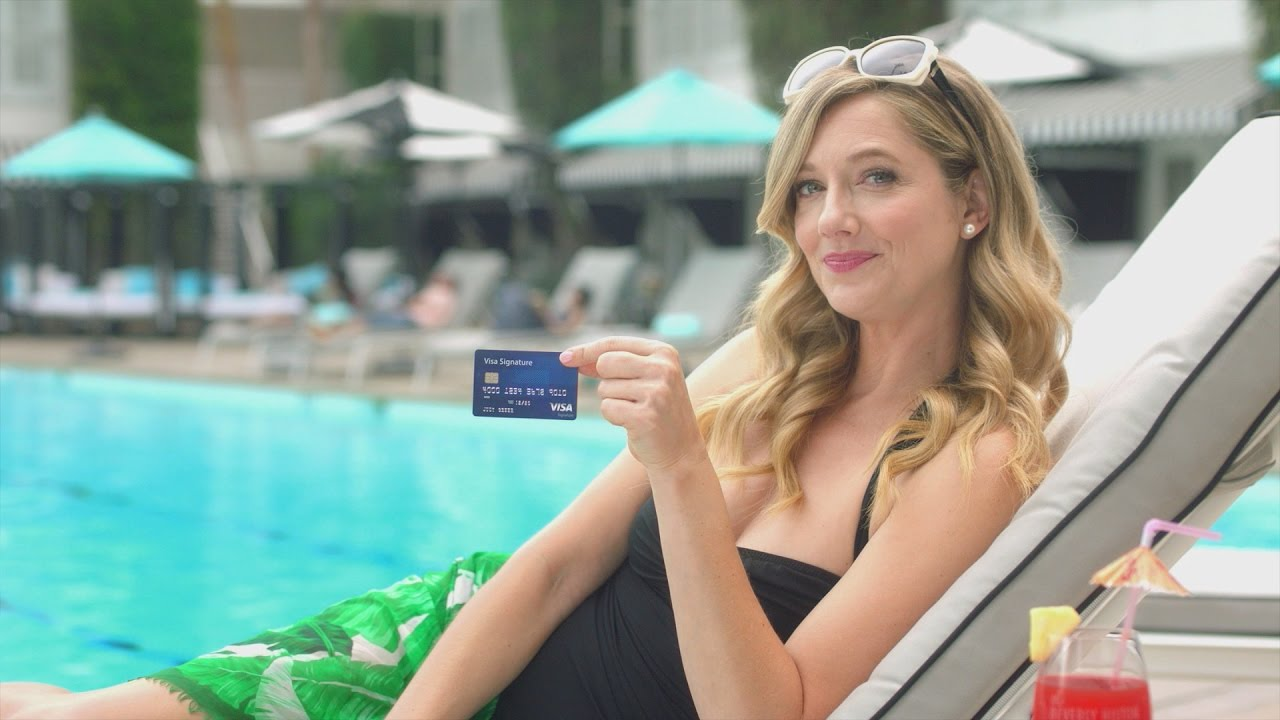 hilton and visa what s to compare featuring judy greer youtube