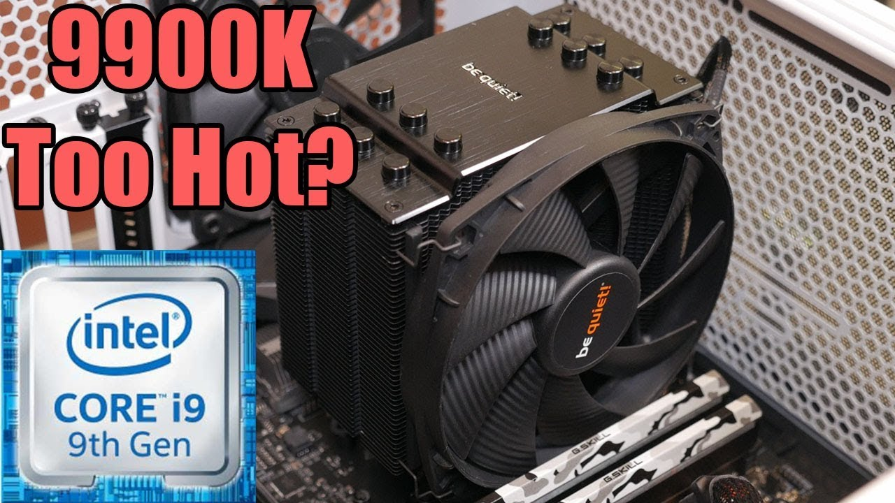 i9 9900K Thermals & Voltage Featuring The BeQuiet Dark Rock 4