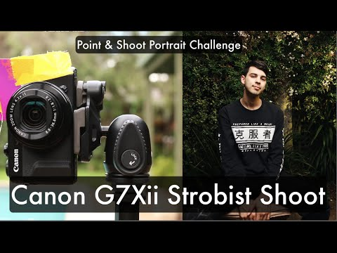 Strobist portraits with a POINT AND SHOOT (Off camera flash) CANON G7XII