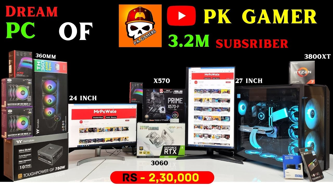 Building Gaming PC for @P.K. GAMERS   | 9532777615 | Mr Pc Wale