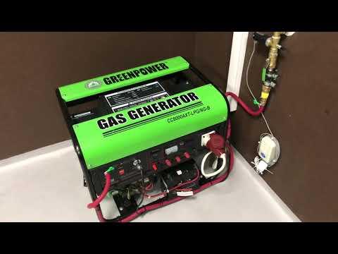 БЕРЕГИТЕ ТЕПЛО! Green Power, газовый генератор.