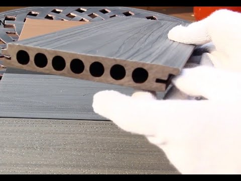 Complete WPC PE  Outdoor Decking Floor Extruder Machine  How To Produce Make WPC Decking Floor