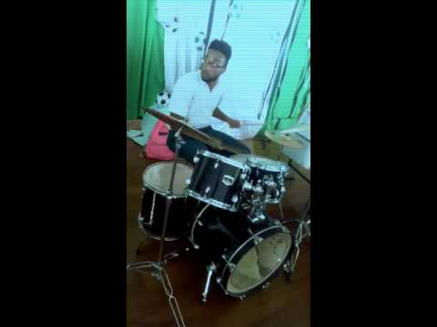 Bunji take over town pan and drum cover