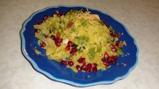 Kande Pohe Recipe Video- Beaten Rice with onion - Gluten Free & Vegan