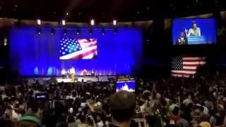 Comedian-Actress Sarah Silverman Introduces Bernie Sanders in LA