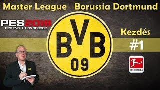 ⚽ PES 2019 BVB Borussia Dortmund Bundesliga Karrier mód #1 ML PS4