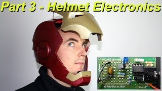 XRobots - Iron Man Cosplay Electronic Motorized Helmet Faceplate VERSION 2, PART 3