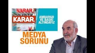 Ahmet Taşgetiren : Medya sorunu