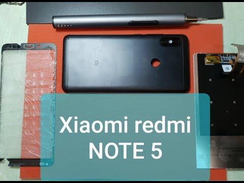 Замена стекла Xiaomi Redmi Note 5 , разборка Redmi Note 5,  как разобрать ,замена экрана сяоми