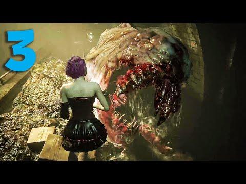 Resident Evil 3 Remake Jill Princess vs Huge Gamma Hunters Part 3