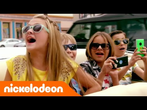 Nicky Ricky Dicky & Dawn | In giro per Hollywood | Nickelodeon Italia