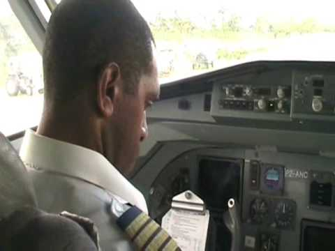 Flying with Air Niugini...