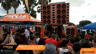 PRV Audio Brazil at the King of La Calle 2018 - Cars and Bike Show - Orlando, FL