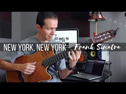 New York, New York  Frank Sinatra Jazz Fingerstyle