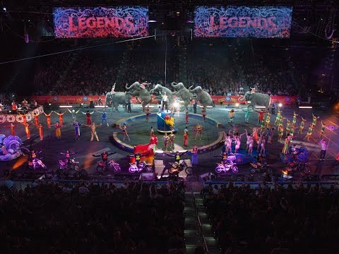 Ringling Bros. Presents LEGENDS - Music Video