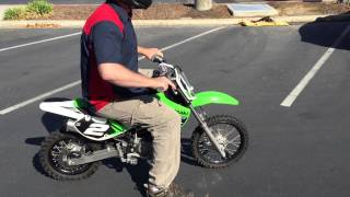 Contra Costa Powersports-Used 2014 Kawasaki KX65 2-stroke racing kiddie dirt bike motorcycle