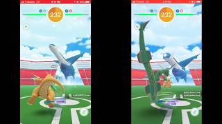 Duo Latios (dragonite & rayquaza team) in windy