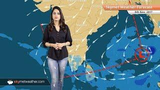 Weather Forecast for Nov 8: Chennai rains to reduce; Dense fog in Punjab, Haryana; Smog in Delhi