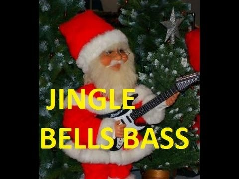 EASY TO LEARN   JINGLE BELLS BASS  LESSON