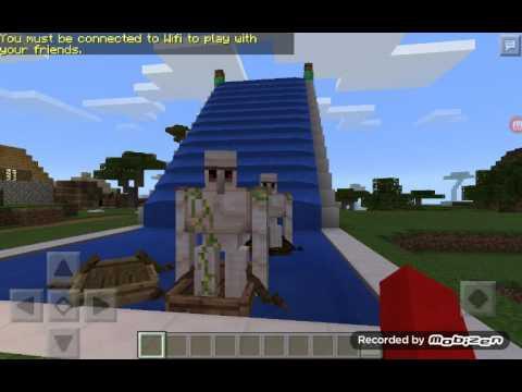Minecraft demir golem ve kardan adam yapımı