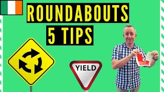 Roundabouts Driving Lesson- 5 tips to help you