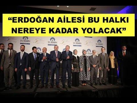 """""""ERDOĞAN AİLESİ BU HALKI NEREYE KADAR YOLACAK"""" ANALİZ..."""