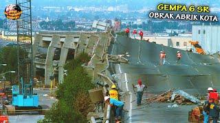 Download Gempa 6 Skala Richter Guncang Kota, Bangunan dan Jalanan Terancam AMBRUK! // Kejadian Alam Terbaru
